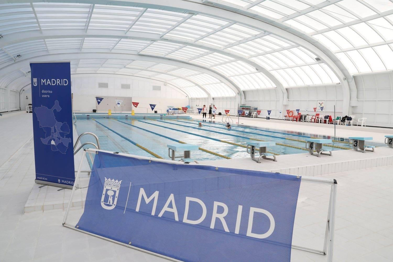 Club nataci n madrid moscard for Piscina municipal moscardo