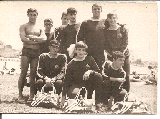 Historia del club for Piscina municipal moscardo